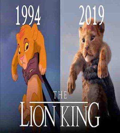 پشت صحنه انیمیشن 1 The Lion King