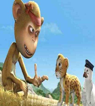 بازیگران انیمیشن Jungle Safari 2012