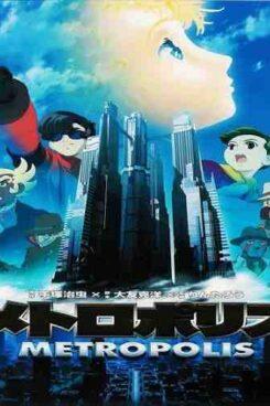 دانلود انیمیشن مترو پلیس Metropolis 2001