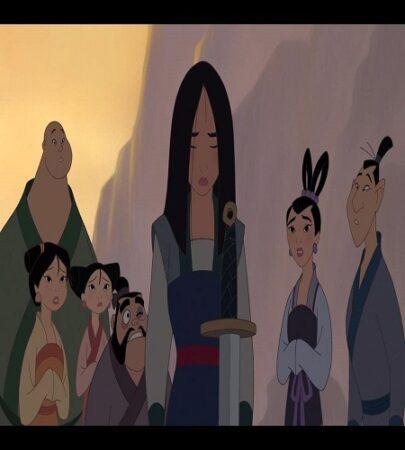 پشت صحنه فیلم Mulan